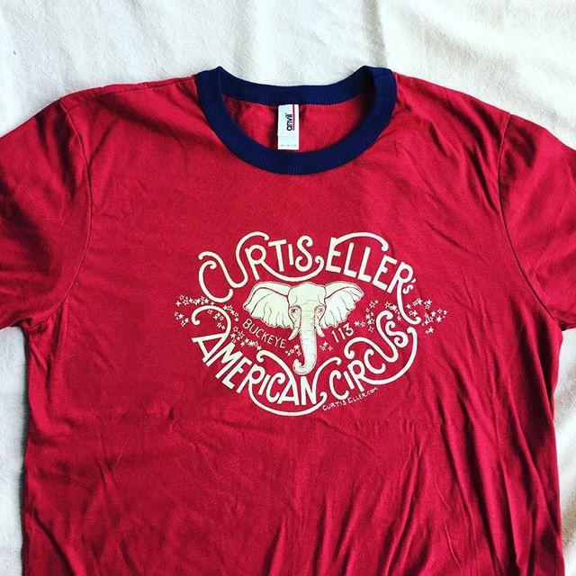 Curtis Eller's American Circus shirt