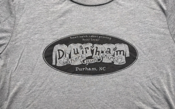 Durham Short Run Shirts logo design