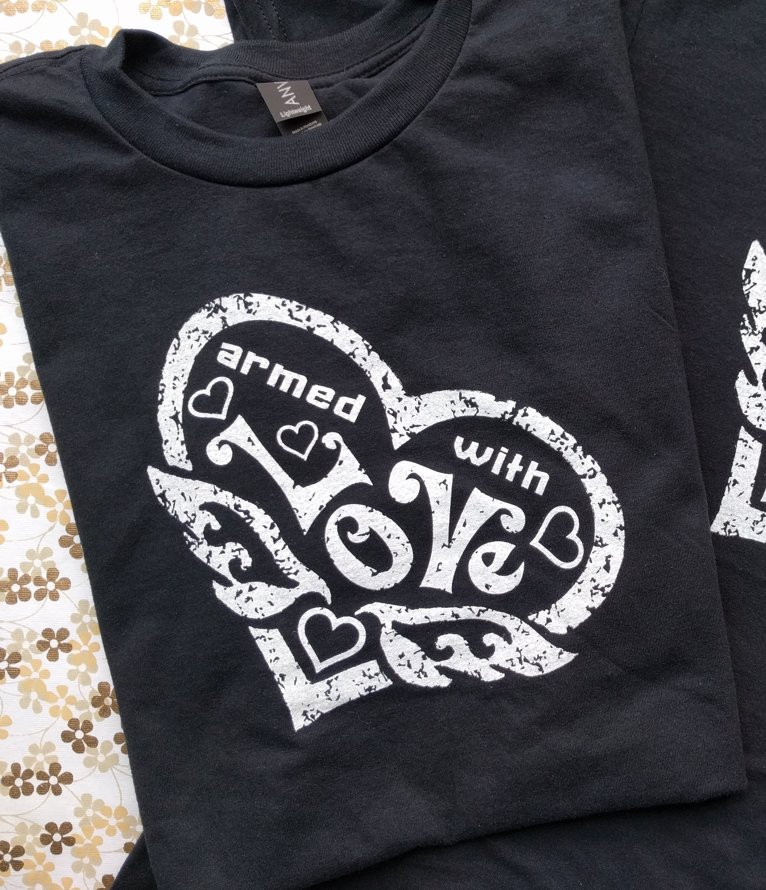 Armed With Love Men's t-shirt